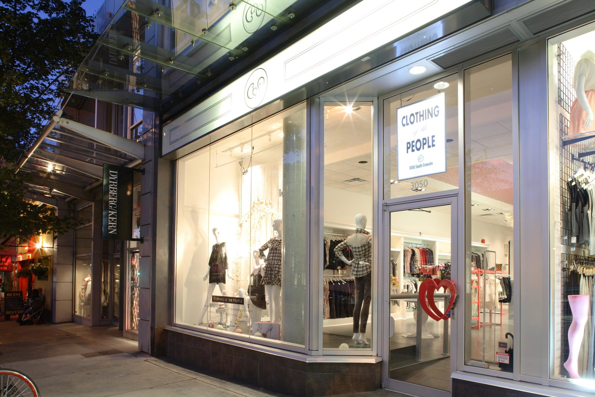 Vancouver renovations commercial for Retail exterior design