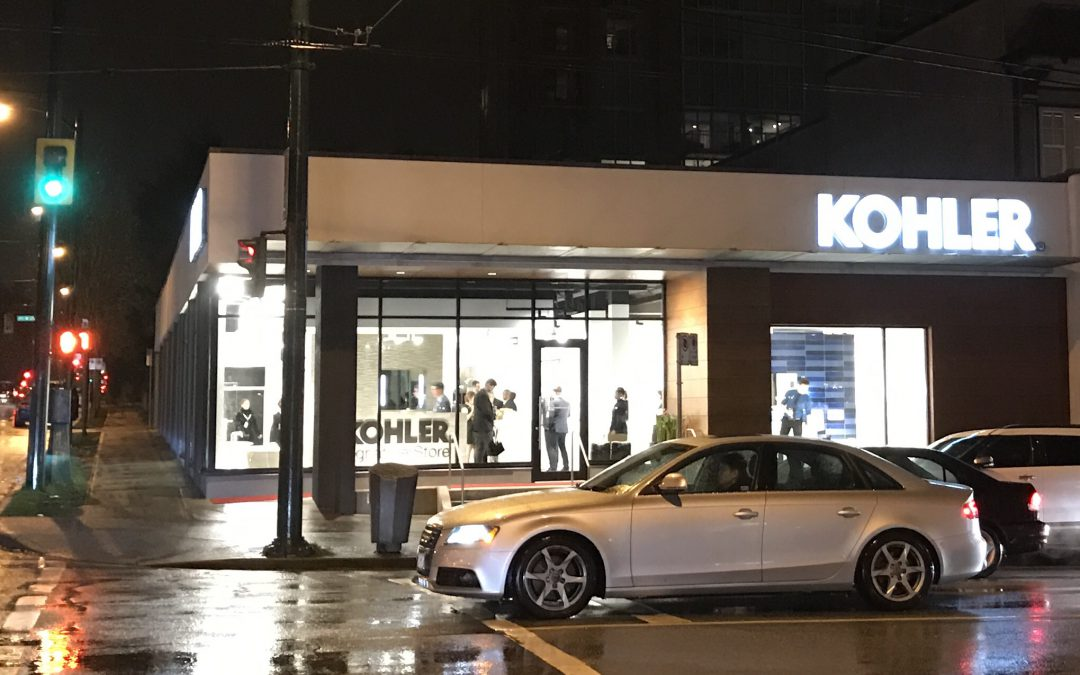 Emco's new Kohler Signature Showroom – Vancouver, BC